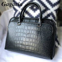 GAGACIA Fashion Office Work Handbags For Woman Business Briefcase High Quality Leather Handbag Lady Shoulder Bags For Women Bag