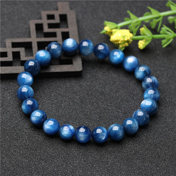 Natural bluestone wholesale blue beautiful high-quality bluestone bracelet string men and women style DIY accessories