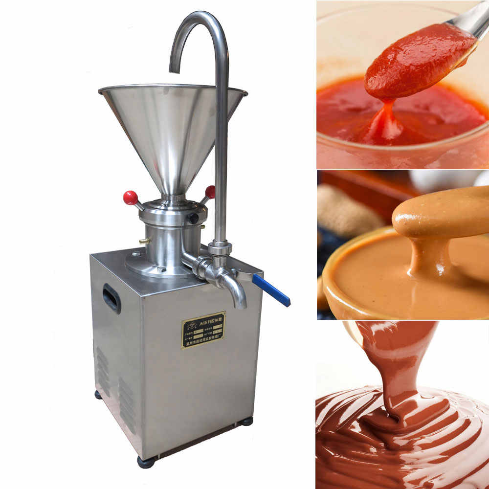 Best selling Electric Big Grinder 1500W Colloid Mill Sesame Tomato Corn Peanut butter machine W/ CE Certification free shipping