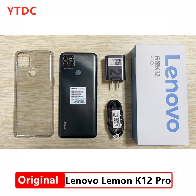 Lenovo K12-Pro 4GB 64GB GSM/LTE/CDMA/WCDMA Bluetooth 5.0/5g wi-Fi Octa Core Fingerprint Recognition