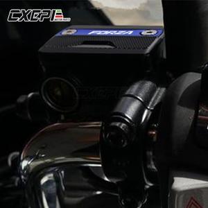 Image 2 - สำหรับ HONDA FORZA 125 FORZA 300 2017 2018 2019 อุปกรณ์เสริมรถจักรยานยนต์ด้านหน้าซ้ายและขวาเบรคอ่างเก็บน้ำฝาครอบ