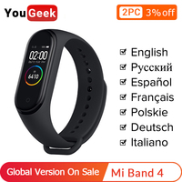Global Version Xiaomi Miband 4 Mi Band 4 Smart Bracelet 3 Color AMOLEDScreen Smartband Fitness Traker Bluetooth Sport Smart Band