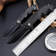 Butterfly folding knife pocekt hunting knife knives hardness 3Cr13 outdoor multitool EDC tactical survival camping knife stenzhorn new damascus black antelope folding knife outdoor portable field army high hardness wilderness survival small knives