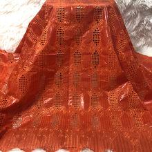 Tela bordada Bazin Riche, tejido de alta dualidad, brocado de Jacquard, última Cuenca, Brode encaje, encaje suizo, 2020
