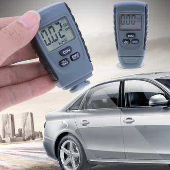 LCD Digital Paint Coating Thickness Gauges Paint Thickness Gauge For Car Iron Aluminum Base Metal недорого