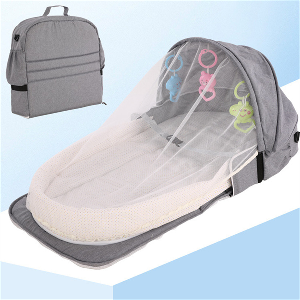 1 PC Baby Nest Bed Portable Crib Travel Bed Infant Toddler Cotton Cradle For Newborn Baby Bed Bassinet Bumper