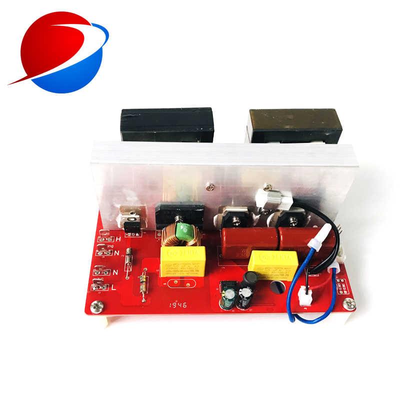 600 Вт ультразвуковой генератор 20 кГц/25 кГц/28 кГц/30 кГц/33 кГц/40 кГц машина для очистки и мытья овощей