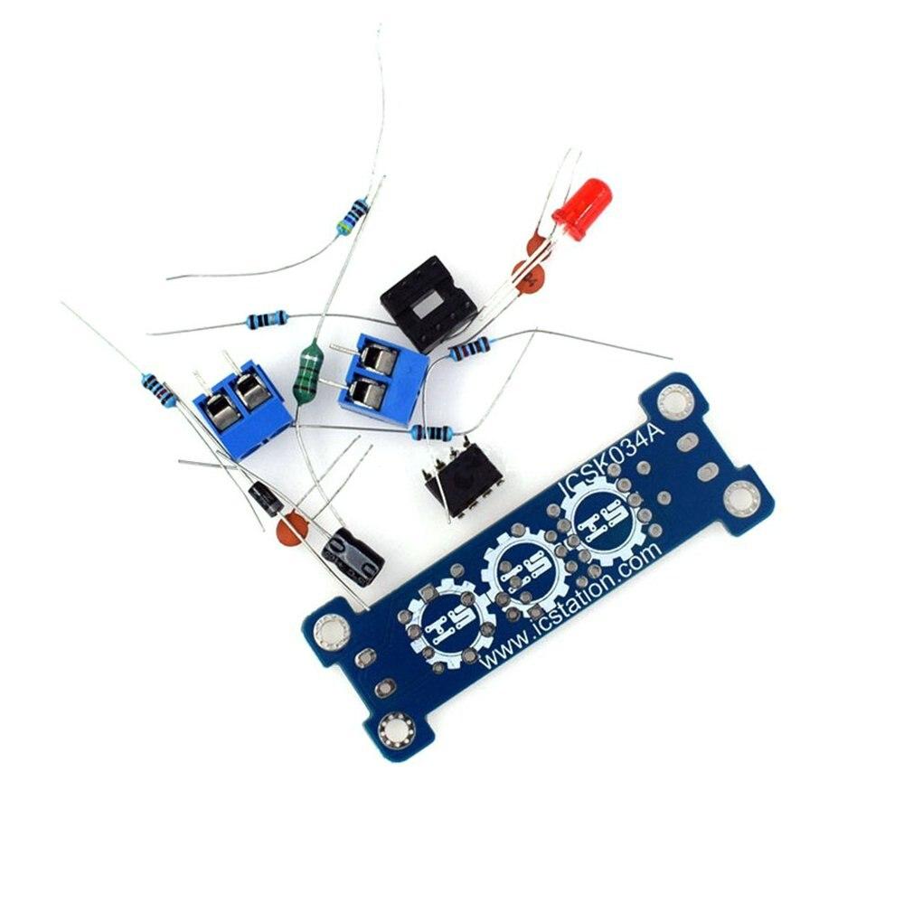 5V Liter 12V Booster Board Boost Module Diy Electronic Production Kit Mc34063 Module Kit