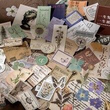 Ästhetische 15 stücke Vintage Sticky für Telefon Deco Retro Schreibwaren Anlage Aufkleber Kugel Journal Scrapbooking Label Aufkleber