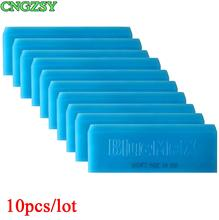 10PCS Car Water Scraper Paster BLUEMAX Window Cleaning Wiper Washing Squeegee for Bathroom Shower Household Mirror Glass 10B02
