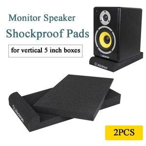 2 шт. Alctron студийный монитор Динамик звукоизоляционные пенопластовые противоударный звукоизоляции тормозные колодки для детей в возрасте о...