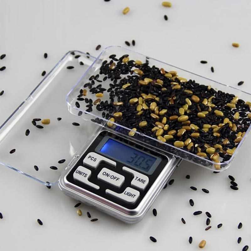 מיני אלקטרוני דיגיטלי בקנה מידה כיס קנה מידה מיני דיוק הרב מטחנות עבור נרגילה נרגילות טבק צינור עישון אבזר
