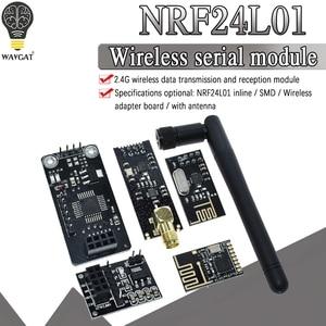 Модуль беспроводной передачи данных NRF24L01 + 2, 4 ГГц, обновленная версия NRF24L01 + PA + LNA 1000 метров для Arduino