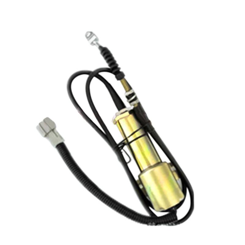 11E1-60100 Fuel Shutdown Solenoid Valve for Excavator R210-7 ,12V,3PCS/LOT