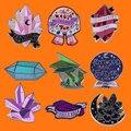 Защита от ублюдки эмаль на булавке на Magic Love You To кварцевые металлическая брошка мультфильм рюкзак сумочки и шляпы, стиль воротник-значки юве...