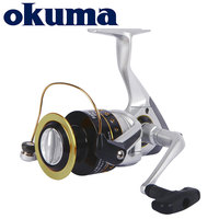 OKUMA Original Fishing Reel Safina Pro Spinning Reel 6bearings 5.0:1/4.5:1 Ratio 4KG 8KG Power Corrosion resistant graphite body
