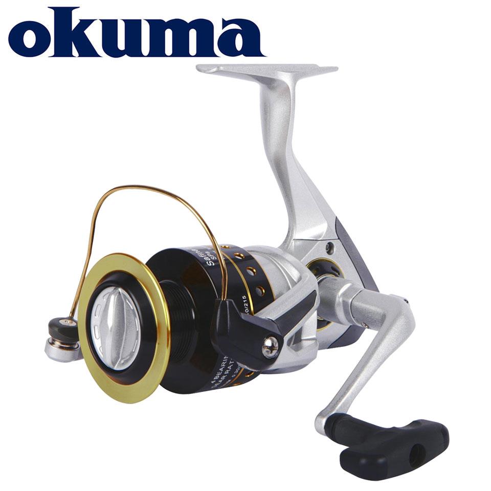OKUMA מקורי דיג סליל סאפינה פרו ספינינג סליל 6 מסבים 5.0: 1/4. 5:1 יחס 4 KG-8 KG כוח קורוזיה עמיד גרפיט גוף