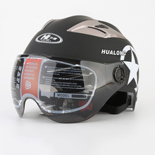 Motorcycle Helmet Open Face Half Harley Motocross Scootor Summer Adult 5 stars Sunscreen Protection C54