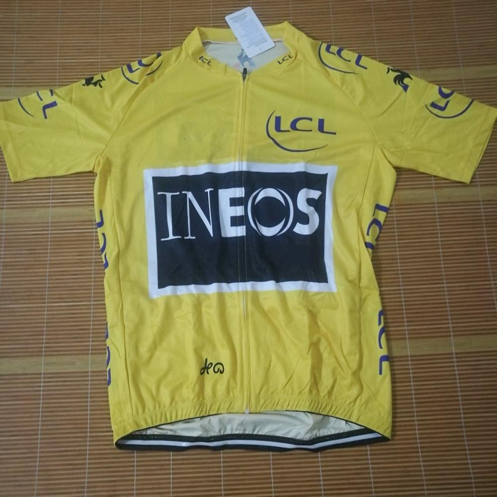 Clothing Cycling-Jersey Leader Bike Champion Tour France Honor Cycle-Maillot Breathable