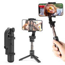 Ulanzi MT-38 Foldable Mini Selfie Stick Tripod Smartphone SLR Camera Vlog Tripod for Gopro 9 8 7 Max Extend Selfie Tripod