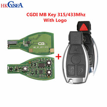 Original CGDI MB Be Key for All Benz Till FBS3 315/433MHZ Get 1 Free Token for CGDI MB Key Programmer with Remote Case and Blade