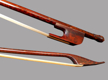 Wtsfwf 25pcs Snakewood Violin Bow Baroque bow 4/4 Round Wonderful Balance