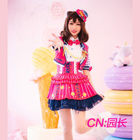Cosplay Costume Anime Bang Dream! Toyama Kasumi Poppin'Party