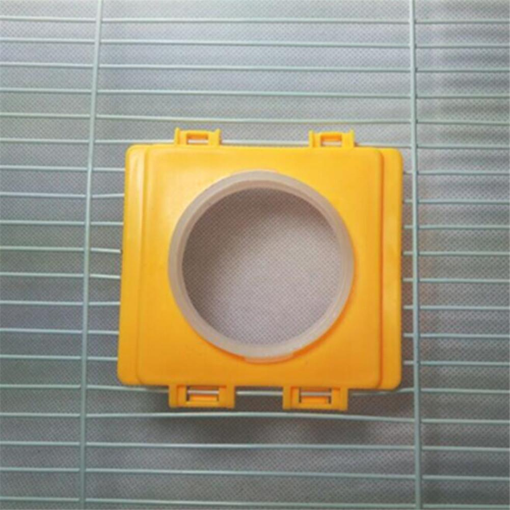 1pc Hamster Tunnel Cage External Pipe Interface Fitting Hamster Toy Tunnel Cage Accessories Pet Supplies Random Color