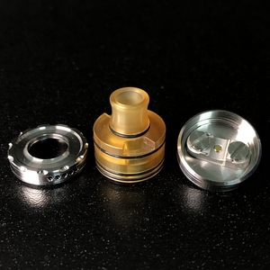 Image 3 - Vape flavor Le Dripper RDA La Atomizer Single Coil Atomizer Ultem Tank 22mm Rebuildable Drops with Squonk pin BF