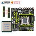 HUANAN ZHI X79-ZD3 Conjunto Com Processador Intel Xeon Motherboard MATX M.2 NVME E5 1650 V2 CPU 3.5GHz 2*8GB (16 GB) RECC DDR3 1333MHZ RAM