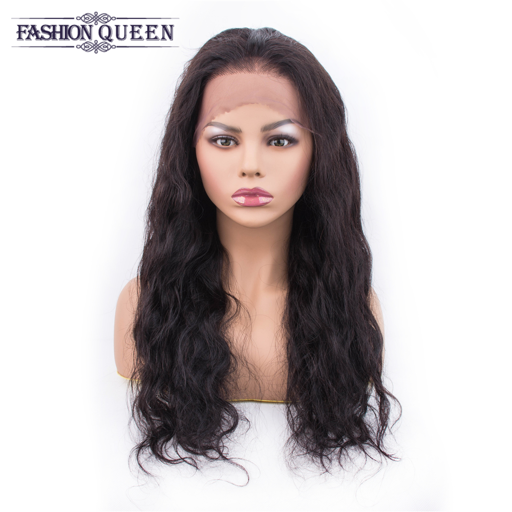 Body Wave 13x4 Lace Frontal Human Hair Wigs Pre Plucked With Baby Hair Brazilian Body Wave Human Hair Wigs For Women Non Remy