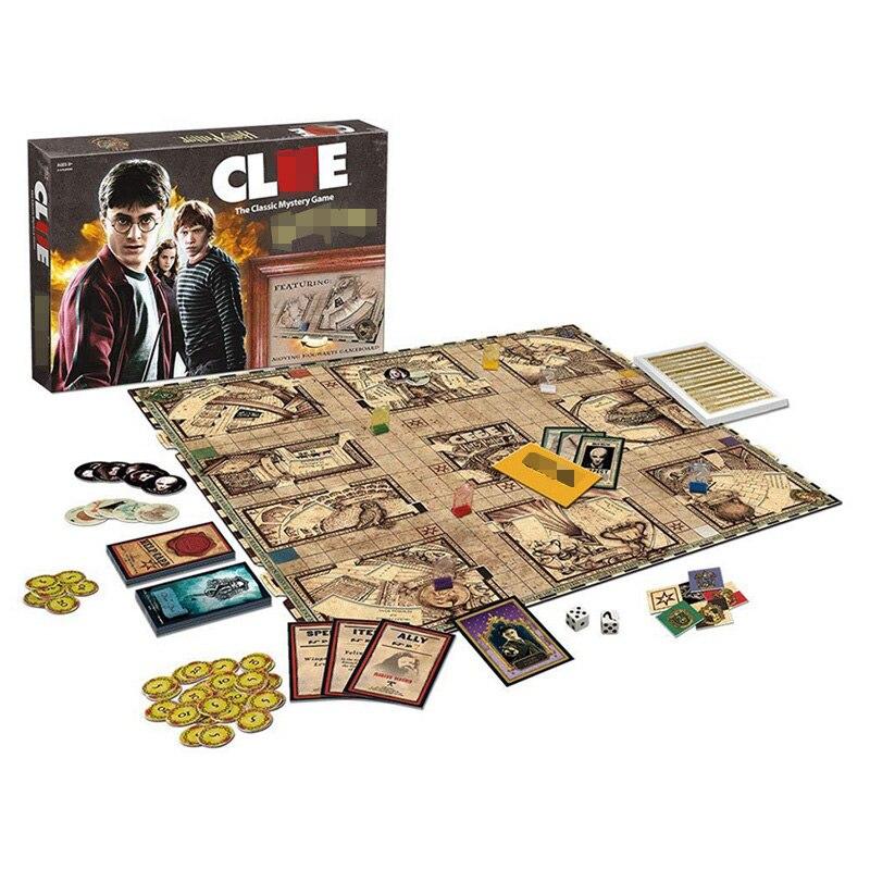 Harri Potter jeu d'indice jeu de société édition Collector tout nouveau jeu de cartes familial scellé pour les enfants