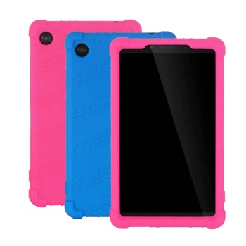 Silicone Kids Case for Lenovo Tab M7 7.0 TB-7305F TB-7305X TB-7305i Tablet Safe Soft Stand Cover Funda Lenovo Tab M7 Shell silicon case for lenovo tab e10 10 1 tablet cover funda tb x104f tb x104f tb x104l soft folding full body protect stand shell