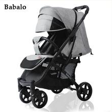 Wózek dziecięcy Babalo yoya Plus 2020 wózek darmowa wysyłka i 12 prezentów niska cena fabryczna za pierwszą sprzedaż nowy projekt baby yoy tanie tanio YOYA TOP 4-6y CN (pochodzenie) Numer certyfikatu 25 kg