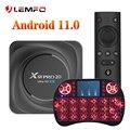 LEMFO X88 Pro 20 RK3566 Смарт ТВ приставка Android 11 8 Гб 64 Гб 128 ГБ Декодер каналов кабельного телевидения Android 11,0 Поддержка Google Assistant Youtube X88PRO
