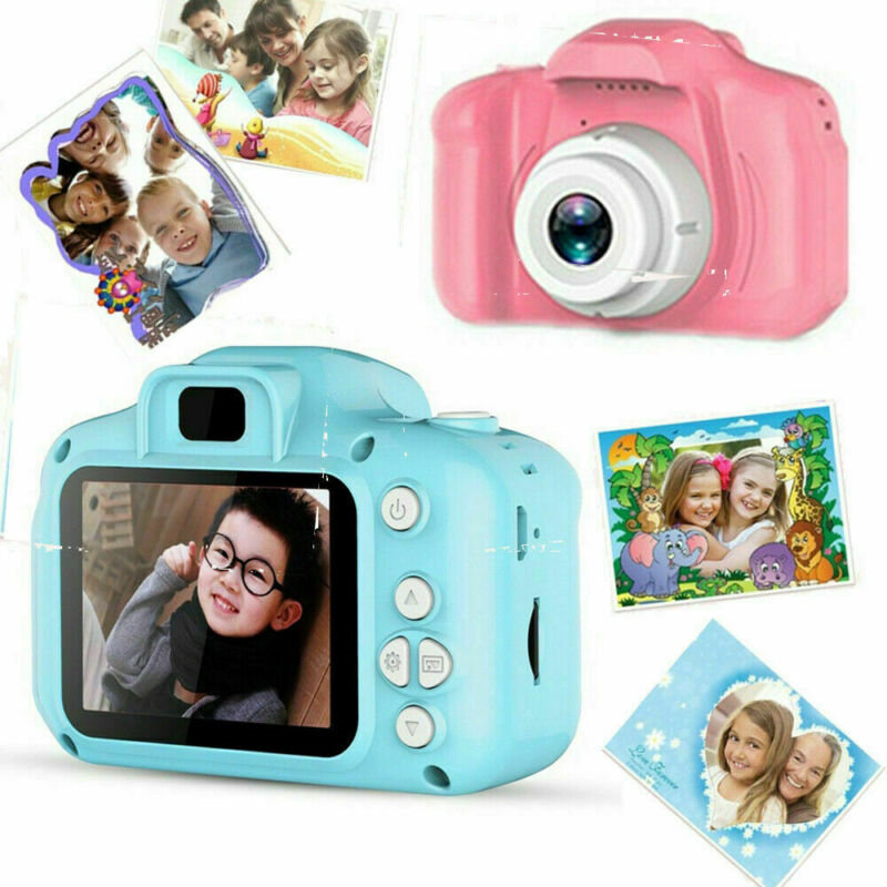 8 Million Pixels Kid Digital HD 1080P Video Camera 2.0 Inch Color Display Camcorder Video Cam Children Baby Xmas New Year Gift