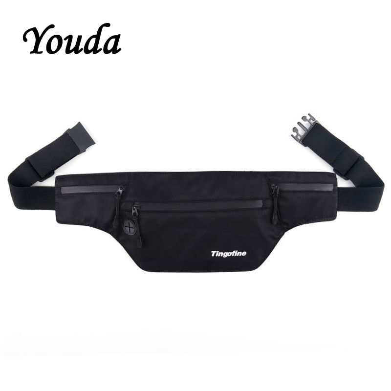 Youda Running Pouch Men Casual Bags Outdoor Sports Pockets Multi-function Waterproof Personal Anti-theft Mobile Phone Waist Bag