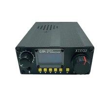 Rádio do presunto do transceptor qrp do hf do rádio de 2020 mhz moblie sdr g1m g core sdr ssb/cw/am 0.5 30 mhz