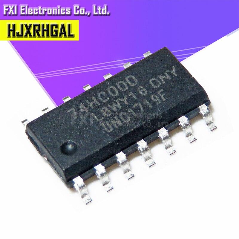 20PCS 74HC00D 74HC00 SOP14 SOP SN74HC00DR SN74HC00 SMD New Original