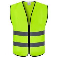 Защитный жилет Hi Vis Светоотражающий жилет-синий оранжевый желтый-Размер s m l