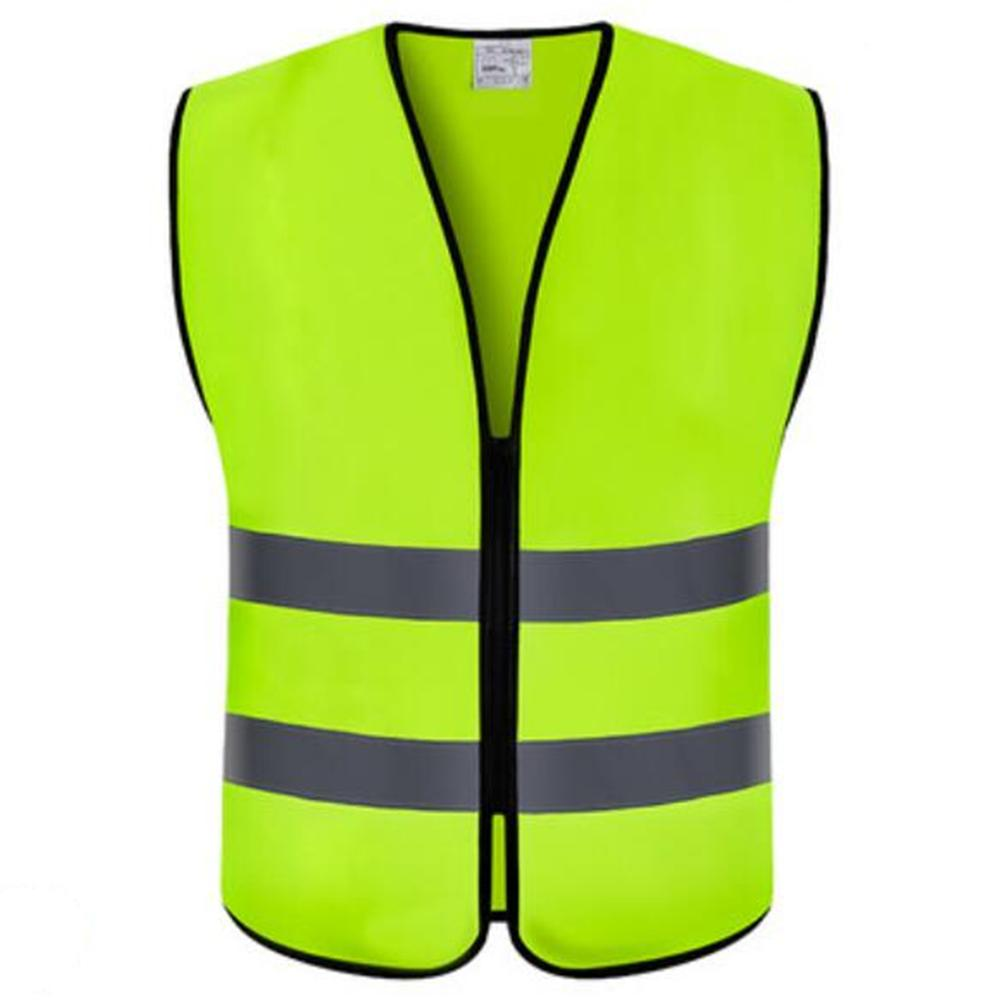 RTY High Vis Mens Workwear Gilet Fluorescent Yellow 3XL