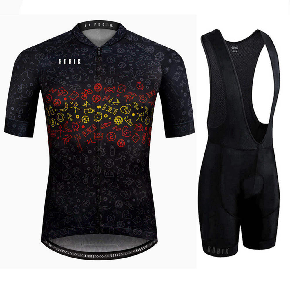 2019 Men 39 s Pro Team Cycling Jersey Set Maillot Ciclismo Short Sleeve Summer Quick Dry MTB Mountain Bike Cycle Clothing Kit in Cycling Sets from Sports amp Entertainment