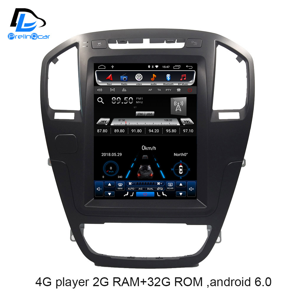 4G LTE Vertical Screen Android 9.0 System Car Gps Multimedia Video Radio Player In Dash For Opel Insignia Car Navigaton Stereo