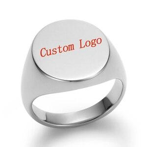 Персонализированное семейное кольцо с монограммой, гравировкой и символом инициалов