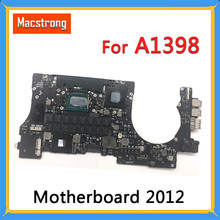 "Getest A1398 Logic Board voor MacBook Retina 15 ""Moederbord 2.2 GHz/2.4 GHz/2.6 GHz/2.6 GHz/8G 16GB RAM 1G GPU 2012 820-3332-A(China)"