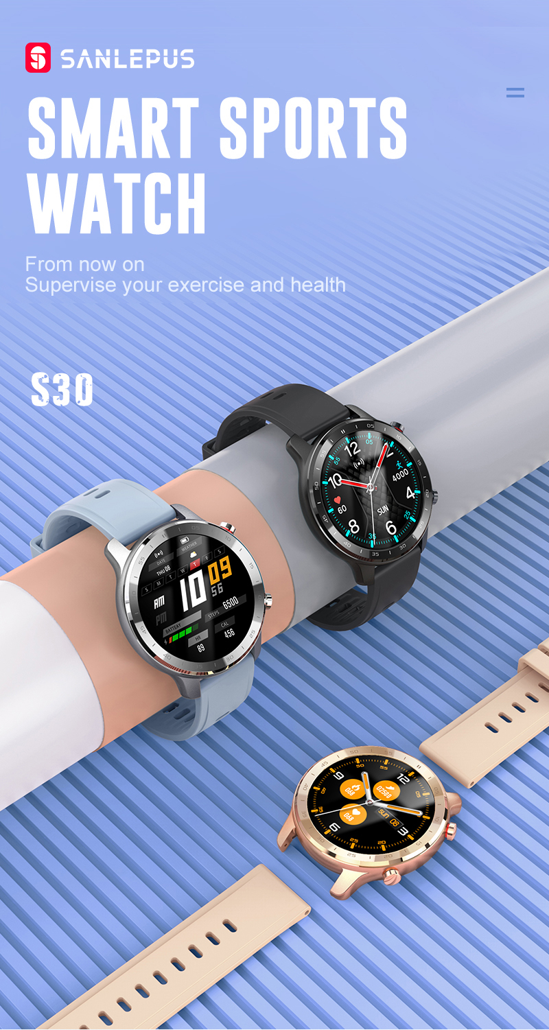H935ff3f672844e92b0dd07b060937ea56 SANLEPUS 2021 NEW Smart Watch Men Women IP67 Waterproof Watches Smartwatch Heart Rate Monitor For Android Xiaomi Samsung iPhone