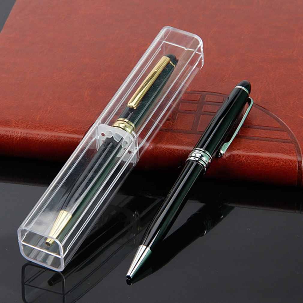 أسود معدن شعار مخصص علي شكل قلم الأعمال مكتب القرطاسية الإبداعية الترويجية هدية القلم قلم حبر جاف للدعاية