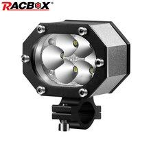Motorcycle headlights 48W high power chips LED Spot Light high low beam Flashing 6000K Motorbike Car ATV boat Off Road headlight цена 2017