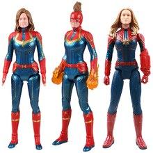 Marvel Avengers Titan Hero Series Captain Marvel Action Figure Super Heroes Figurine New Year Gift Toys For Children