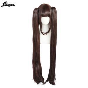 Image 2 - Parrucca Cosplay Ebingoo Chocola NEKOPARA capelli sintetici termoresistenti al cioccolato capelli Cosplay Chocola